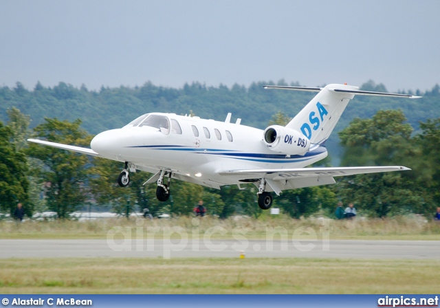OK-DSJ, Cessna 525 CitationJet CJ1, Delta System Air