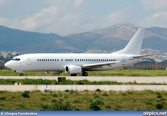 OK-FGS, Boeing 737-400, Untitled