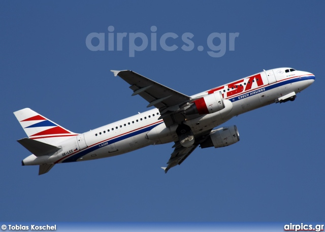 OK-LEE, Airbus A320-200, CSA Czech Airlines
