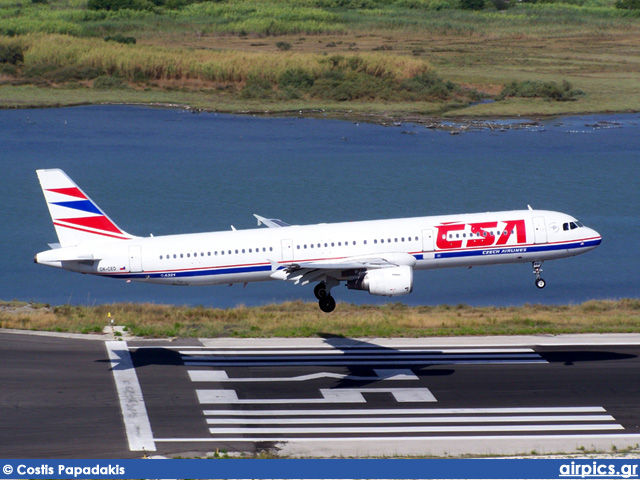 OK-SED, Airbus A321-200, CSA Czech Airlines