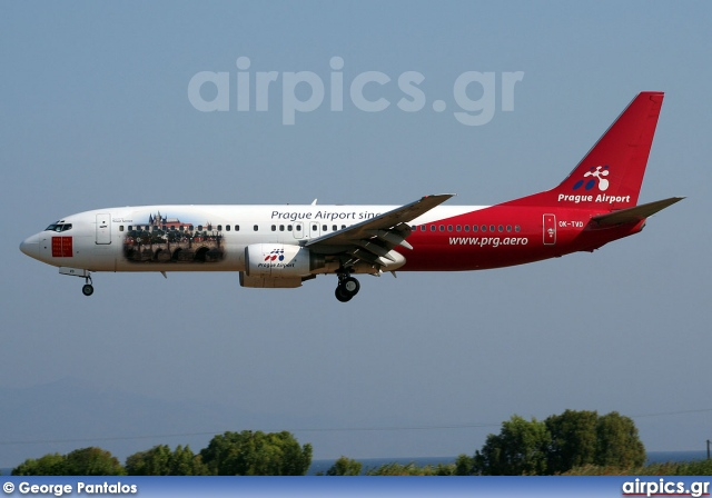 OK-TVD, Boeing 737-800, Travel Service (Czech Republic)
