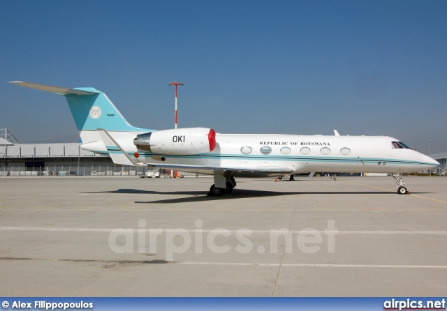 OK1, Gulfstream IV, Republic of Botswana