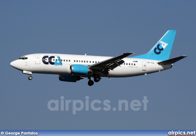 OM-CCA, Boeing 737-300, Central Charter Airlines Slovakia