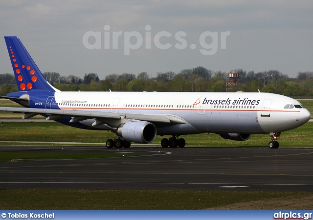 OO-SFM, Airbus A330-300, Brussels Airlines