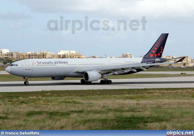 OO-SFV, Airbus A330-300, Brussels Airlines