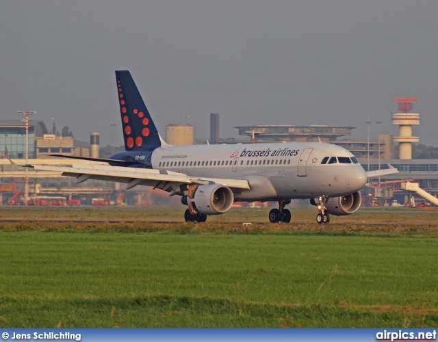 OO-SSK, Airbus A319-100, Brussels Airlines