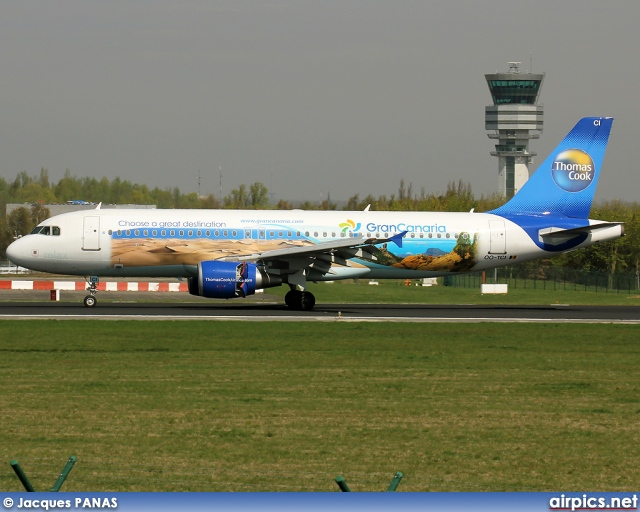 OO-TCI, Airbus A320-200, Thomas Cook Airlines (Belgium)