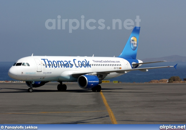 OO-TCO, Airbus A320-200, Thomas Cook Airlines (Belgium)