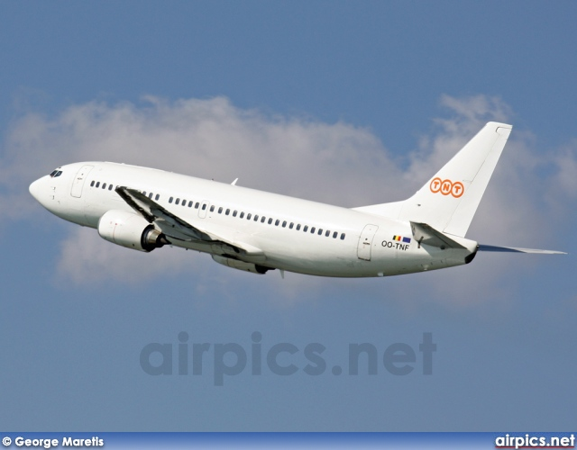 OO-TNF, Boeing 737-300(QC), TNT Airways