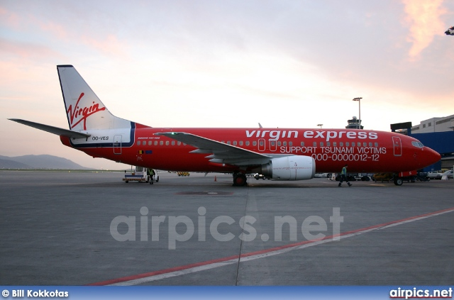 OO-VES, Boeing 737-400, Virgin Express