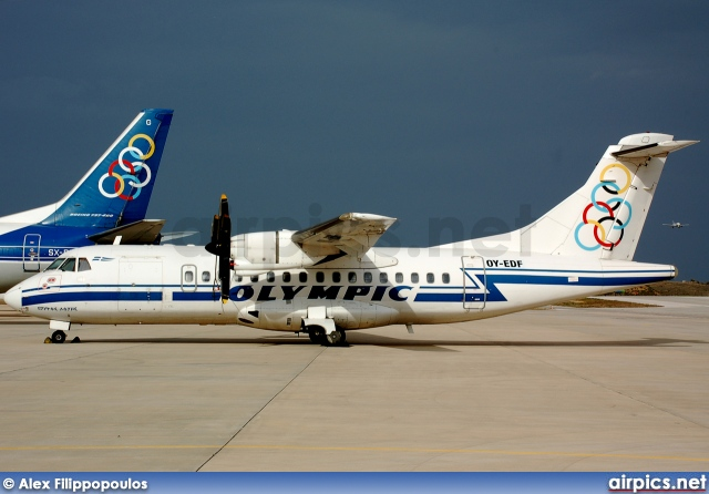 OY-EDF, ATR 42-320, Olympic Airlines
