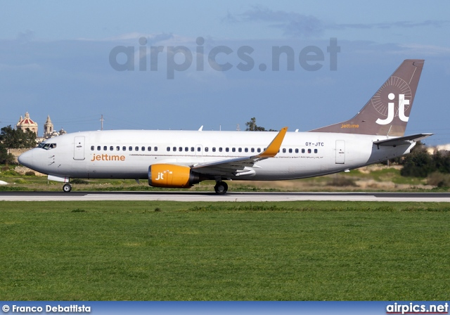 OY-JTC, Boeing 737-300, Jettime