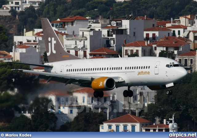 OY-JTF, Boeing 737-300(QC), Jettime