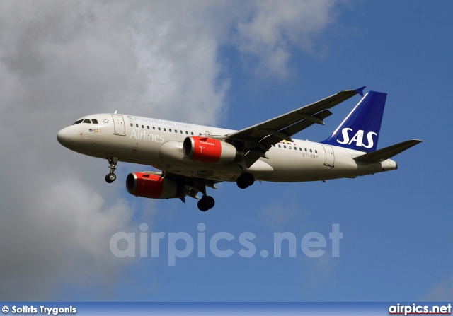 OY-KBP, Airbus A319-100, Scandinavian Airlines System (SAS)