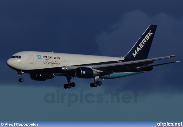 OY-SRF, Boeing 767-200SF, Star Air (Maersk)