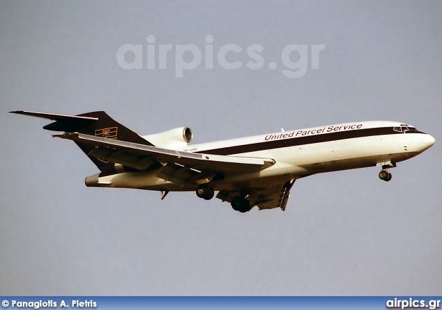 OY-UPC, Boeing 727-100C(QF), UPS Airlines