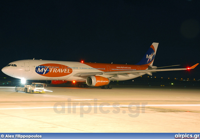 OY-VKH, Airbus A330-300, MyTravel Airways
