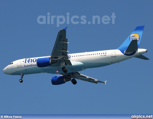 OY-VKM, Airbus A320-200, Thomas Cook Airlines Scandinavia
