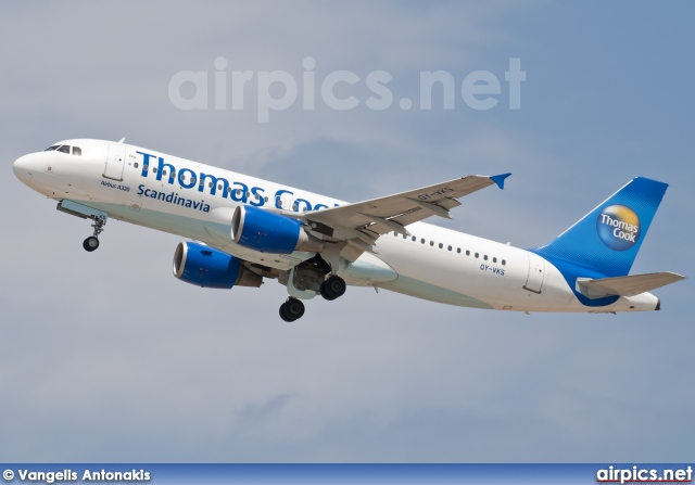 OY-VKS, Airbus A320-200, Thomas Cook Airlines Scandinavia