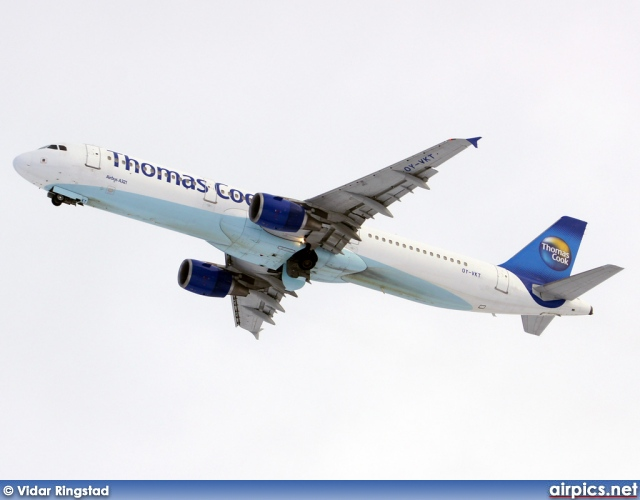 OY-VKT, Airbus A321-200, Thomas Cook Airlines Scandinavia