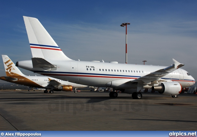 P4-VNL, Airbus A319-100CJ, Private