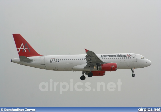 PH-AAX, Airbus A320-200, Amsterdam Airlines