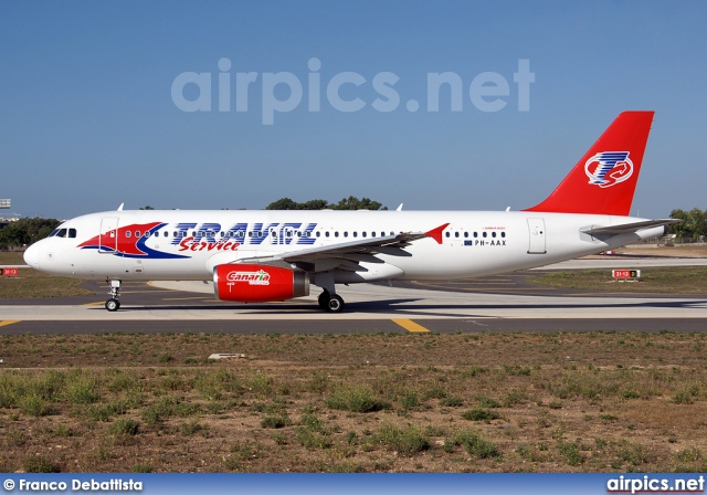 PH-AAX, Airbus A320-200, Travel Service (Czech Republic)