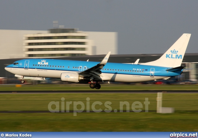 PH-BCB, Boeing 737-800, KLM Royal Dutch Airlines