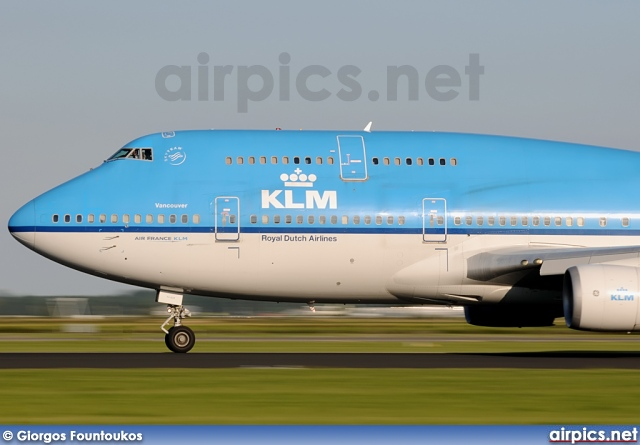 PH-BFV, Boeing 747-400M, KLM Royal Dutch Airlines