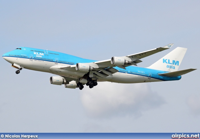 PH-BFY, Boeing 747-400M, KLM Royal Dutch Airlines