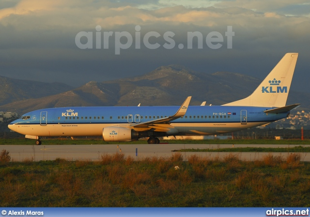PH-BGA, Boeing 737-800, KLM Royal Dutch Airlines