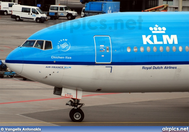 PH-BQC, Boeing 777-200ER, KLM Royal Dutch Airlines