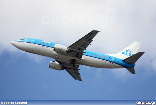 PH-BTE, Boeing 737-300, KLM Royal Dutch Airlines