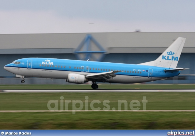 PH-BTF, Boeing 737-400, KLM Royal Dutch Airlines
