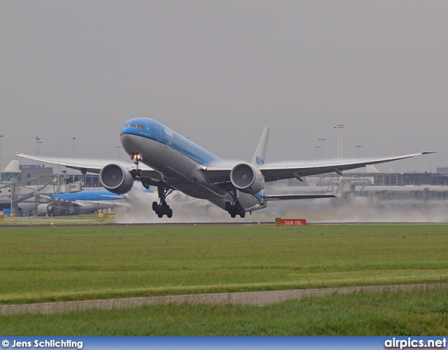 PH-BVC, Boeing 777-300ER, KLM Royal Dutch Airlines