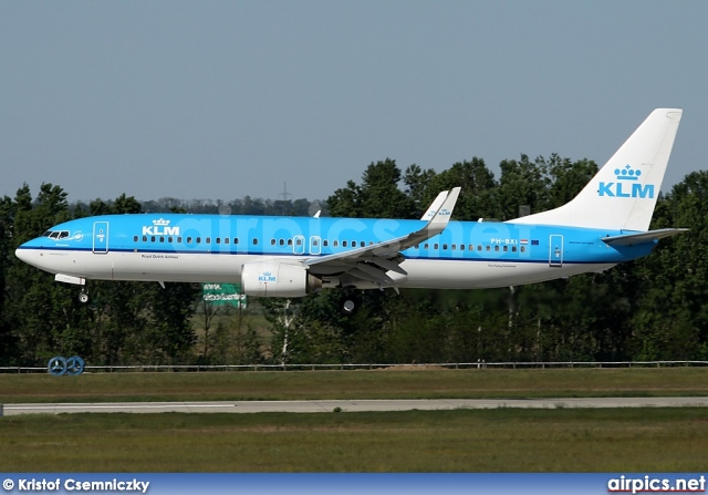 PH-BXI, Boeing 737-800, KLM Royal Dutch Airlines