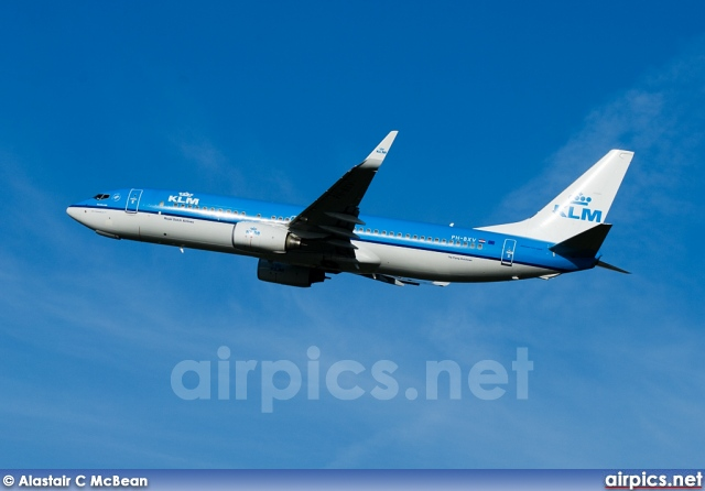 PH-BXV, Boeing 737-800, KLM Royal Dutch Airlines