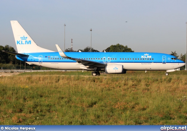 PH-BXZ, Boeing 737-800, KLM Royal Dutch Airlines