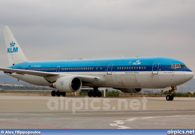 PH-BZH, Boeing 767-300ER, KLM Royal Dutch Airlines
