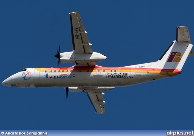 PH-DMV, De Havilland Canada DHC-8-300 Q Dash 8, Air Nostrum (Iberia Regional)
