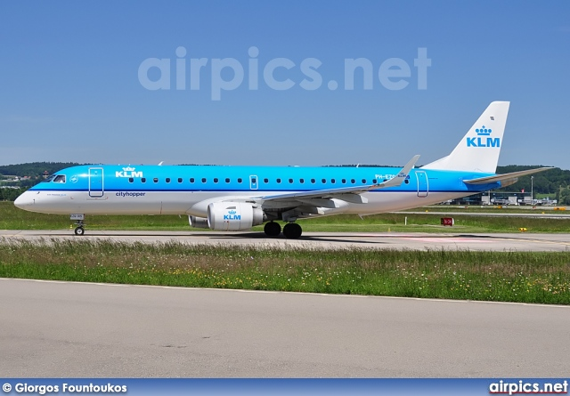 PH-EZG, Embraer ERJ 190-100STD (Embraer 190), KLM Cityhopper