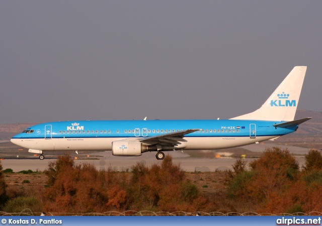PH-HZK, Boeing 737-800, KLM Royal Dutch Airlines
