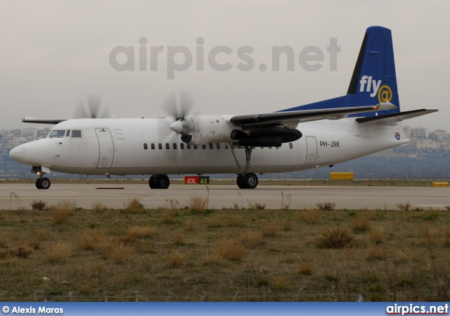 PH-JXK, Fokker 50, Denim Air