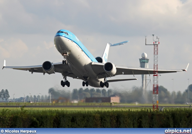 PH-KCA, McDonnell Douglas MD-11, KLM Royal Dutch Airlines
