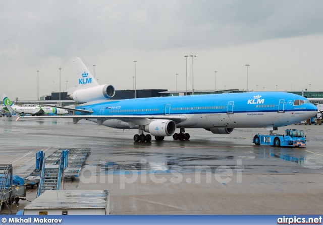PH-KCD, McDonnell Douglas MD-11, KLM Royal Dutch Airlines