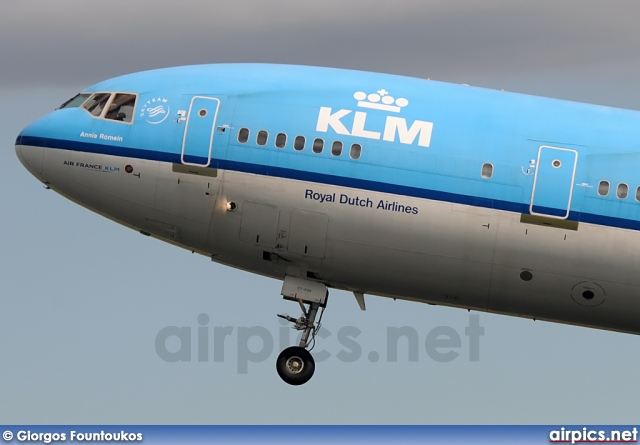 PH-KCF, McDonnell Douglas MD-11, KLM Royal Dutch Airlines