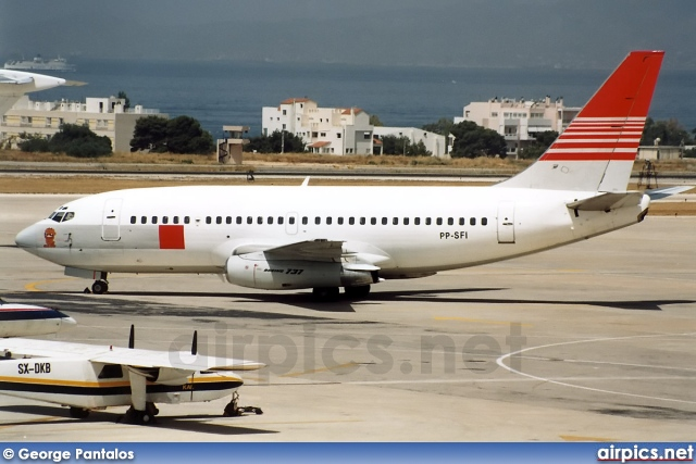 PP-SFI, Boeing 737-200Adv, Japan Transocean Air