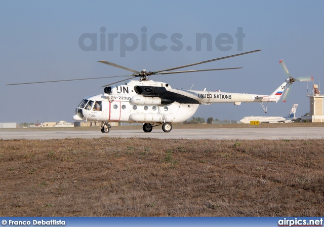 RA-22981, Mil Mi-8MTV-1, United Nations