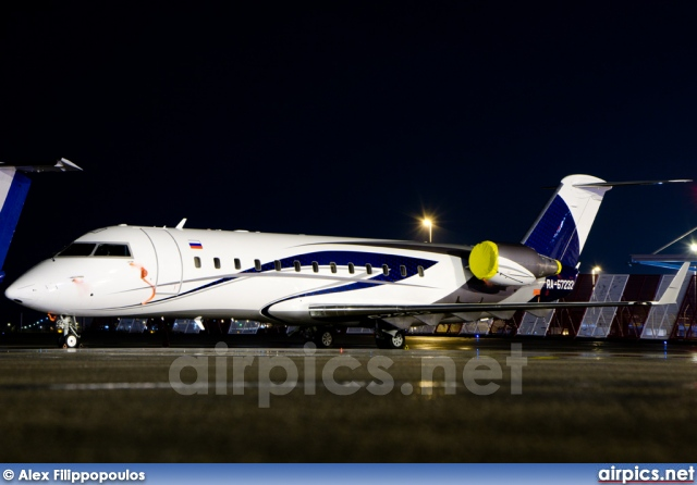 RA-67232, Bombardier Challenger 850, Private