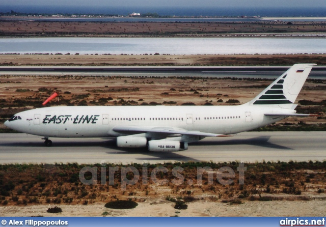 RA-86139, Ilyushin Il-86, East Line Airlines